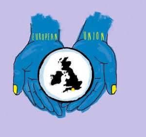 EU in hands