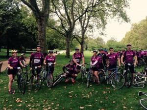 BACOM Sally Crosthwaite Level P 2015 - 2016 Photo cycling company event