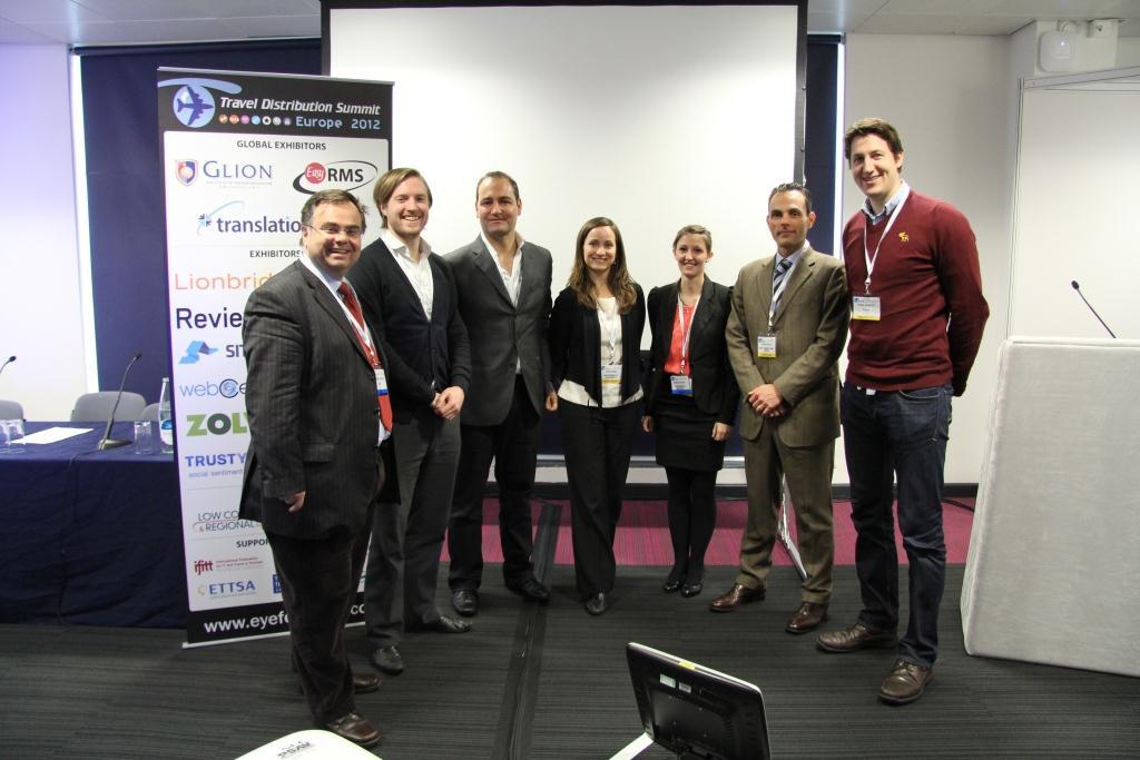 Speakers IFITT@EyeforTravel Technology Enhanced Tourism Experience Economy Workshop