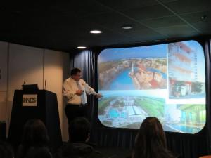 Professor Dimitrios Buhalis eTourism Lab at Hotel and Catering Show