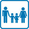 Icon for Families with young children