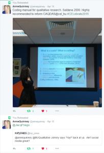 Anne Quinney's tweet