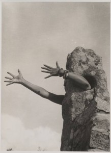 I Extend My Arms 1931 or 1932 Claude Cahun 1894-1954 Purchased 2007 http://www.tate.org.uk/art/work/P79319