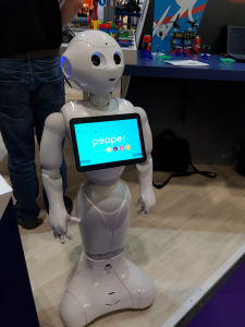 Pepper the ROBOT classroom assistant