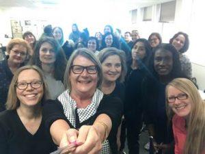 International Women's day selfie