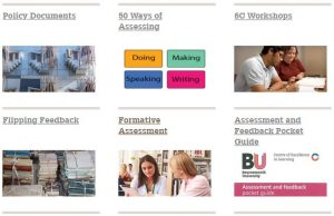 Assessment and Feedback toolkit web page