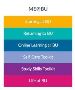 Me at BU logo
