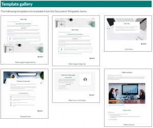 HTML Template library