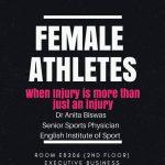 Female athlete; Anita Biswas