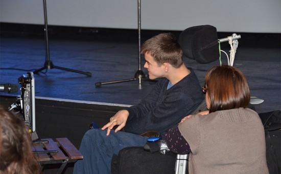 2-the-artist-Bridport-Open-Book-festival-Oct-2012-550x340