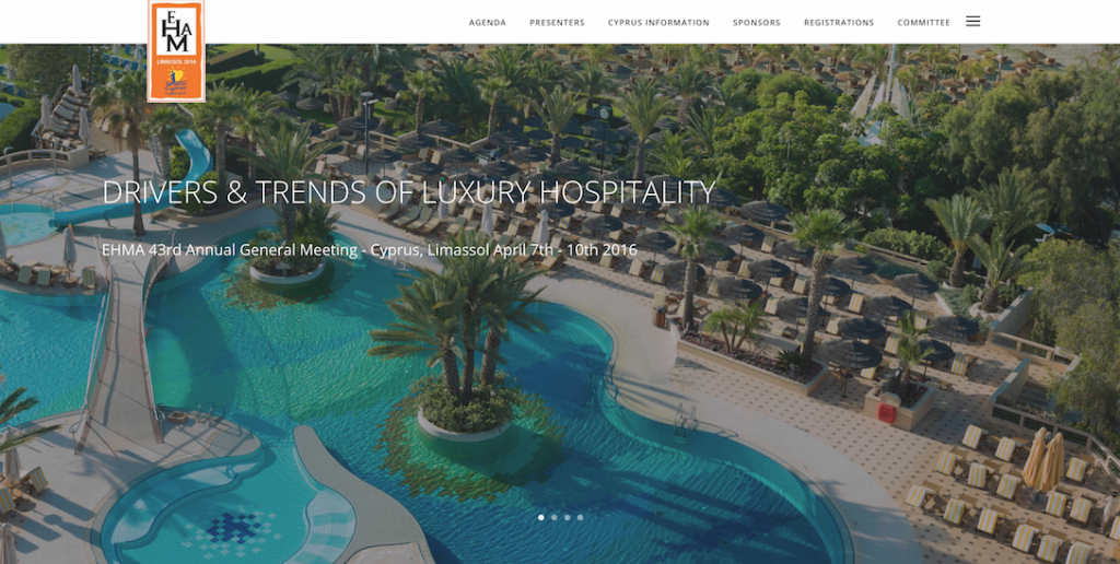 Professor Dimitrios Buhalis to keynote on drivers and trends of luxury hospitality and the role of technology for the EUROPEAN HOTEL MANAGERS ASSOCIATION conference  Limassol 7-10 April http://ehmacyprus2016.com/