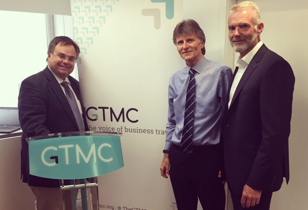 Dimitrios Buhalis, Adrian Parkes, Simon Thomas GTMC and Bournemouth University signing partnership