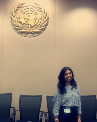 At United Nations in Bangkok for PATA's event, Asia Pacific Youth & Sustainable Tourism Workshop